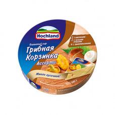 Сыр плавленый Hochland с грибами (140гр)