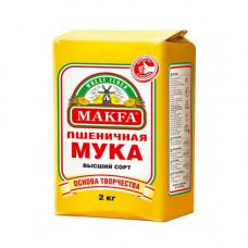 Мука, Makfa, Высший сорт (2кг)