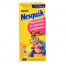 Nesquik коктейль со вкусом клубники (1Л)